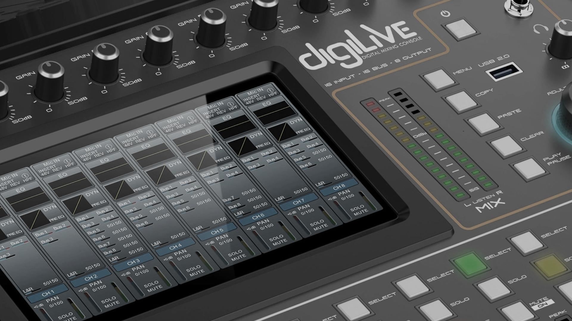 STUDIOMASTER - Digital Audio Mixers
